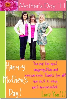Mother's Day Card 2011